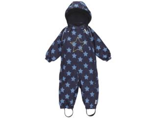 """Baby und Kinder Schneeanzug mit Kapuze """"Po"""" dunkelblau"""