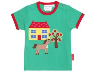 Kinder T-Shirt Bauernhof