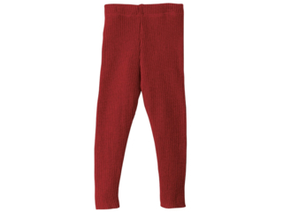 Woll-Leggins bordeaux