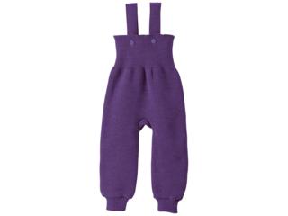 Baby Hose mit Trägern pflaume