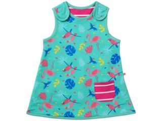 """Baby und Kinder Kleid zum Wenden """"Rainforest"""""""
