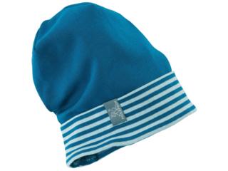 Baby und Kinder Beanie Mütze Luca oceanblau hellblau