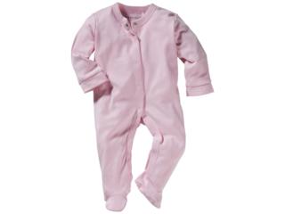 Baby Schlafanzug Bio-Baumwolle hellrosa