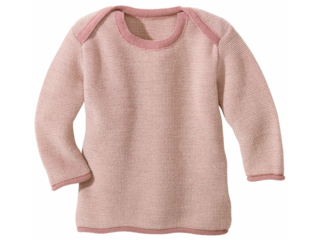 Baby und Kinder Pullover melange-rosé