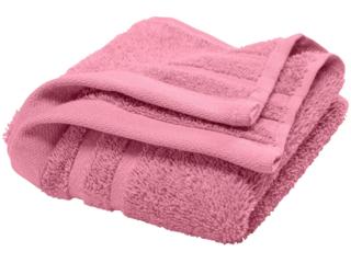 Handtuch Bio-Baumwolle Frottee pink