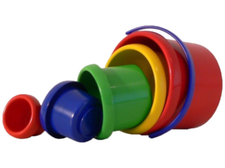 Babyspielzeug Stapelbecher-Set