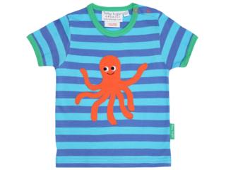 Kinder T-Shirt Tintenfisch