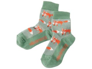 Kinder Socken Fuchs gestreift