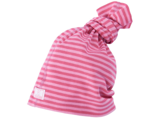 """Schlauchmütze """"Strunzl"""" 3-in-1 himbeere-pink-geringelt"""