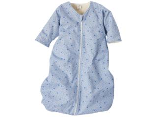Winterschlafsack Baby, Baumwolle (kbA)/Schurwolle (kbT), hellblau
