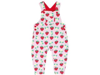 Baby und Kinder Latzhose Erdbeere