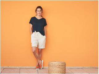 "Damen Shorts Bermudas ""Gaby"" sand"