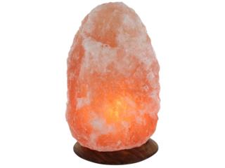 """Beleuchteter Salzkristall """"Rock"""""""