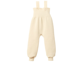 Baby Hose mit Trägern natur