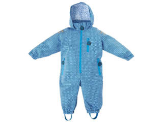 "Kinder Regenanzug ""Funky blue"""