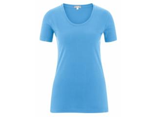 "Damen T-Shirt ""Frieda"" azur"