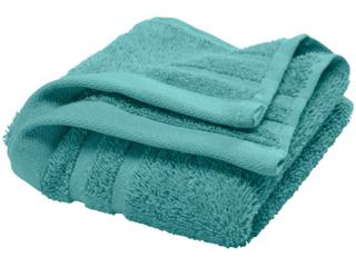 Handtuch Bio-Baumwolle Frottee petrol