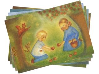Postkarten Herbst