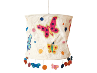 Pendelleuchte Schmetterlinge  (inklusive Deckenzuleitung)