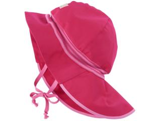 Baby und Kinder Mütze Feuerwehr UV-80 pink-fuchsia
