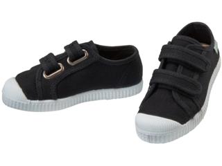Kinder Schuhe Sneaker mit Klettverschluss black