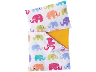 """Puppenbettwäsche 3-teilig """"Elefanten"""""""