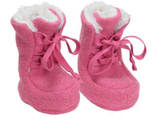 Baby Hausschuhe Walk-Boots wild rose