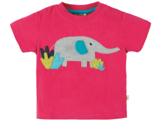 Baby und Kinder T-Shirt Ellie himbeere