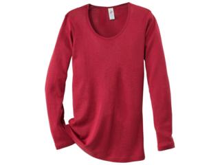 Damen-Unterhemd Langarm malve