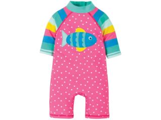Baby und Kinder Badeanzug UV Schutzkleidung UV 50 plus Fisch