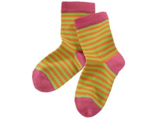 Kinder Mädchen Socken sangria-stachelbeere