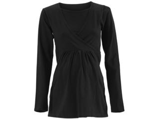 """Umstands- und Still Shirt """"Helene"""" Bio-Baumwolle schwarz"""