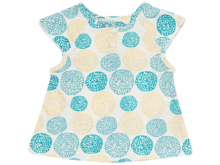 "Baby Shirt ""Lulu"" Frilly Flowers"