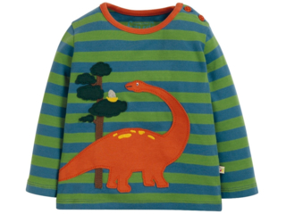 Baby und Kinder Langarmshirt Dino