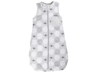 Schlafsack Baby Bio-Baumwolle Jersey ohne Arm Kreis
