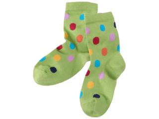 Kinder Socken Pünktchen Stachelbeere
