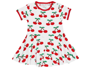 Kinder Kleid Kirschen
