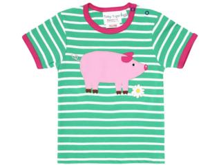Kinder T-Shirt Schwein