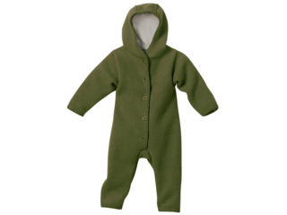 Baby Walk-Overall oliv
