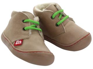 "Kinder Schuhe ""Juan"" pflanzlich gegerbt stone"