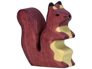 """Holzfigur """"Eichhörnchen, braun"""" Wald und Wiese"""
