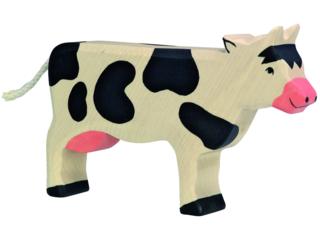 """Holzfigur """"Kuh, stehend"""" Auf dem Bauernhof"""