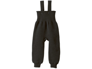 Baby Hose mit Trägern anthrazit