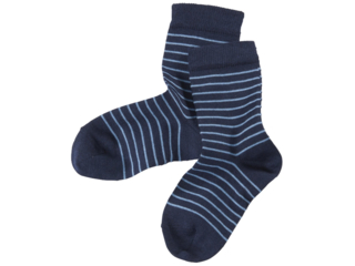 Kinder Socken marine-geringelt