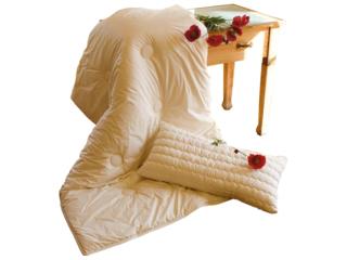 Bettdecke für Erwachsene Merino-Schafschurwolle (kbT)