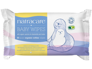 Biologische Babypflegetücher