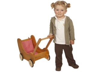 Lauflern- und Puppenwagen