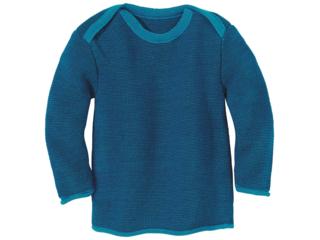 Baby und Kinder Pullover melange-marine