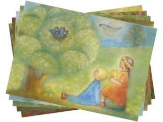 Postkarten Frühling
