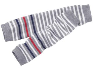 Baby-/Kinder-Stulpen minilegs (kbA) coce-weiß-gestreift